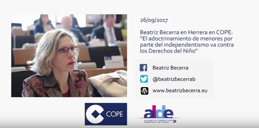 Beatriz Becerra en COPE